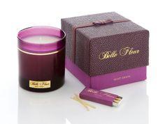 BELLE FLEUR Velvet Santal Candle, $68.