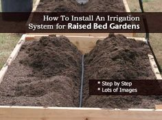 How To Install An Irrigation System for Raised Bed Garden Step By Step
