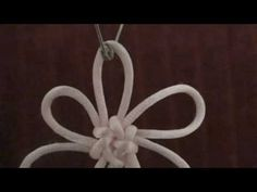FLOWER KNOT - PART 1 - YouTube