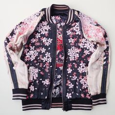 """@japanloverme.store work  This is my favorite #Sukajan design at the moment. Sakuraaaa """