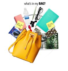 """""""what's in my bag?"""" by lunaarmani ❤ liked on Polyvore featuring L'Oréal Paris, Kate Spade, Jack Spade, Chanel, Louis Vuitton, Michael Kors and inmybag"""