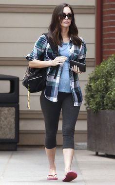 Megan Fox from The Big Picture: Today's Hot Pics  Birthday girl! The pregnant actress was spottedcelebrating her birthday today by going out to lunch at Cafe Gratitude in Los Angeles.