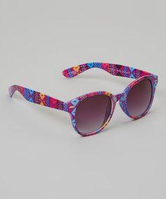 Loving this Aztec Sunglasses on #zulily! #zulilyfinds