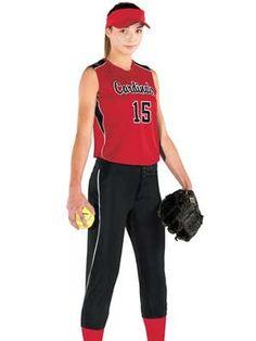 Womens Softball Uniform 86