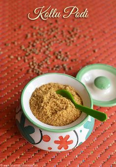 I made this Kollu Podi few months back and it was super hit at home and no one even realised it had kollu in it.I just used my idli podi recipe with few adjustments for this kollu podi recipe and it turned out so good that I wanted to record it here with measurements.This podi can served...Read More »