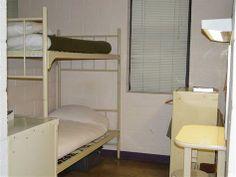 A glimpse Of Alderson's prison cell.