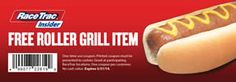 FREE Roller Grill Item at RaceTrac Stores on http://www.icravefreebies.com/