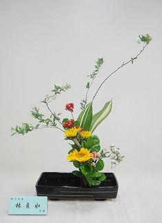 Ikebana: photo by Lucille Lin