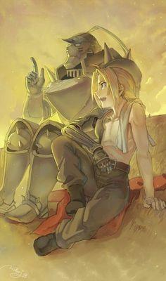 Alphonse & Edward
