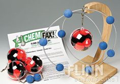 Elementary Atomic Model Set - Yeah, I could buy it for $73 on the site . . . or make it myself with the banana holder and Christmas ornaments.