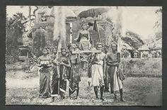Bali Bride Sacrifice Poera Dewa Indonesia 1910