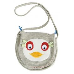Owl shoulder bag: Small shoulder bag in herringbone knit with shoulder strap, very cute with its Popipop owl head appliqué. Cotton poplin lining with Seventies style print and Velcro fastening. Small Shoulder Bag, Shoulder Strap, Owl Head, Kids Fashion, Autumn Fashion, Gaspard, Seventies Fashion, Small Handbags, Velcro Straps
