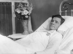 Babe Ruth in Bed 1925
