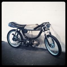 Custom Puch Moped