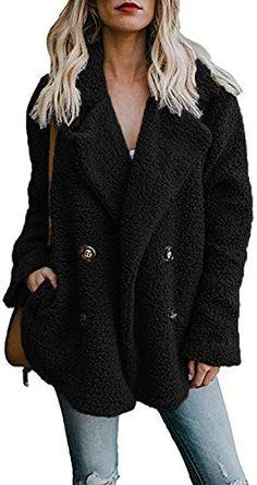 omniscient Womens Warm Oversized Sherpa Pullover Hoodie Pockets 1//4 Zip Sweatshirt