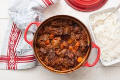 Want ideas for what to cook in a Dutch oven? Try these recipes for meaty mains, hearty soups, pasta dishes, vegetarian meals, and more. Oxtail Recipes, Meat Recipes, Cooking Recipes, Curry Recipes, Dutch Oven Cooking, Dutch Oven Recipes, Dutch Ovens, Beef Dishes, Pasta Dishes