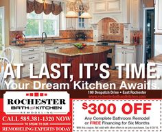 Rochester Bath And Kitchen Remodeling Coupons And Specialswww Custom Bathroom Kitchen Remodeling Design Inspiration