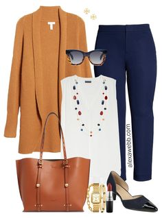 Plus Size Fall Cardigan Outfit Ideas with Dolman Cardigan, Trousers, and Statement Necklace - Alexa Webb Outfits 2019 Outfits casual Outfits for moms Outfits for school Outfits for teen girls Outfits for work Outfits with hats Outfits women Office Outfits Women Casual, Classy Work Outfits, Winter Outfits For Work, Fall Cardigan, Cardigan Outfits, Tunic Dresses, Corset Dresses, Skirt Outfits, Plus Size Fall Outfit