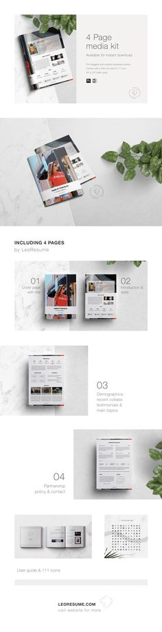 Social Media Kit Template for MS Word and Photoshop Media Kit Template, Microsoft Word 2007, Press Kit, Social Media Icons, Line Icon, All Fonts, Icon Set, Editorial Design