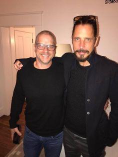 Peter and Chris Cornell 2017  #chriscornell #soundgarden #audioslave