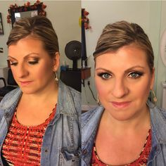 Makeup by Dovione at Get Gorgeous Salon  www.getgorgeoussalon.com