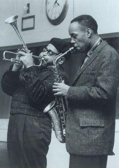 Dizzy Gillespie and Sonny Stitt