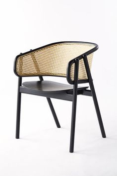 Woven Cane & Rattan Furniture – The Seasonal Edit: Spring 2019 Woven Cane & Rattan Accent Chair with Black Frame – Modern Cane Furniture – The Seasonal Edit: Spring 2019 — The Savvy Heart Art Furniture, Types Of Furniture, Rattan Furniture, French Furniture, Retro Furniture, Furniture Design, Furniture Stores, Furniture Upholstery, Furniture Movers