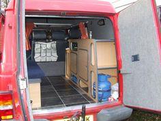 campervan conversion parts | LDV Pilot van: Conversion of a LDV Pilot van into a camper