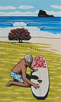 Great surf artist Tony Ogle***Research for possible future project.