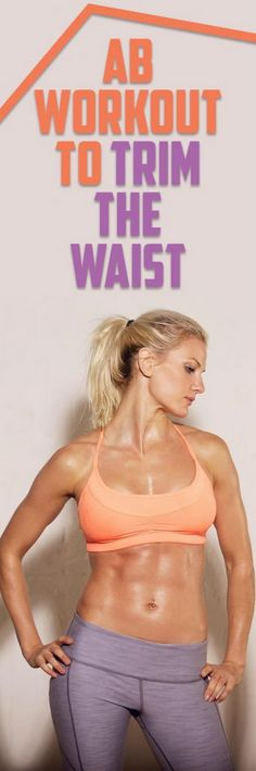 Ab Workout to Trim the Waist