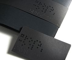 Engraved, business card & Belly band by Grosz Co Lab / on TTL Design