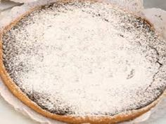 Receita de Tarte de Alfarroba (Algarve)   Doces Regionais