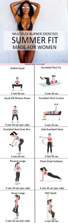 Repin and share if this workout saved you and gave you a sexy bikini body! Read the post for the full workout description!