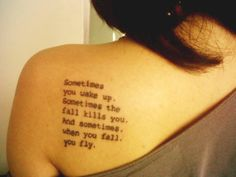 Not the placement but it is a good quote!