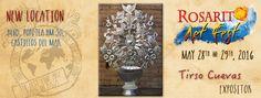 Rosarito Art Fest 28 y 29 de Mayo del 2016 Nueva Ubicación / New Location Blvd. Popotla km 30 / Castillos del mar. Playas de Rosarito, Baja California, México.