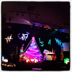 """Christmas Set - 2012 """"The Gift Is A Who"""" West Pines Community Church"""