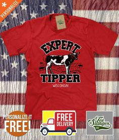 Cow Tipping T-Shirt – Teeslanger Cow Tipping c2a65a36c