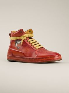 Berluti 'Playtime' hi-top sneakers Mens Trainers, Best Sneakers, High Top Sneakers, High End Mens Shoes, Berluti Shoes, Men's Shoes, Shoes Sneakers, Best Designer Brands, Briefcase