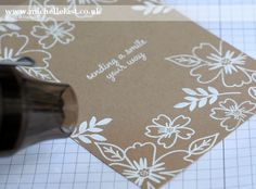 Technique 101 - Simple Heat Embossing & New Stampin Up catalogue launch! - with Michelle Last