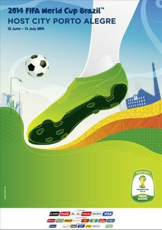 Porto Alegre is one of the Host Cities for the 2014 FIFA World Cup Brazil Fifa 2014 World Cup, Brazil World Cup, Soccer Art, Soccer Shop, Lionel Messi, Wold Cup, Fifa Online, Cup Games, Football Tournament