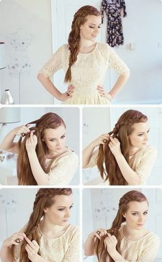 Fabulous Braided Hairstyles Hairstyles And Diy And Crafts On Pinterest Short Hairstyles Gunalazisus