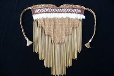 MARO A maro is a traditional piece of clothing worn like an apron. Flax Weaving, Pattern Meaning, Flax Fiber, Maori Designs, Maori Art, Weaving Patterns, Weaving Techniques, Embroidery Thread, Wearable Art