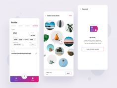 Photo album app designed by Divan Raj . Connect with them on Dribbble; the global community for designers and creative professionals. Mobile Ui Design, App Ui Design, Web Design Company, Photo Album App, Circle Ui, Card Ui, Ui Design Inspiration, Ui Web, Branding