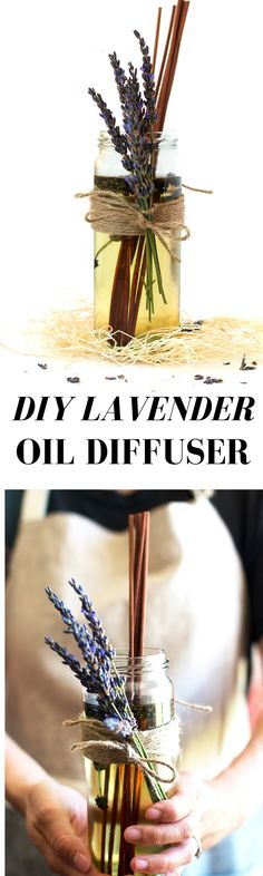 This easy and natural lavender oil diffuser has a fresh floral character with soothing undertones that is used for tranquility and serenity.