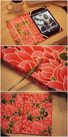 DIY iPad Case Tutorial by Little Miss Lovely