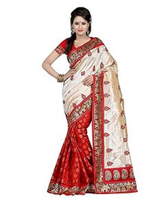 Saree (Roop Craft Women's Cotton Saree with blouse piece) - http://www.onlinesaleindia.in/product/saree-roop-craft-womens-cotton-saree-with-blouse-piece/