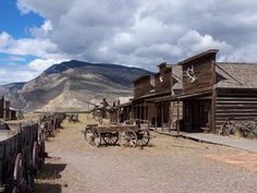 Old Trail Town in Cody, WY