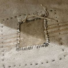 Sashiko and boro on Pinterest | Stitches, Indigo and Jeans