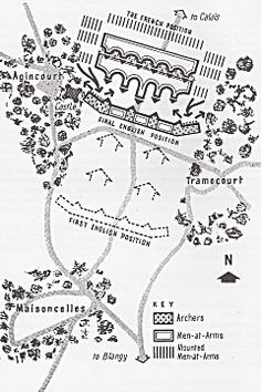 Map of the battle.