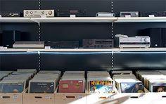 Platten und HiFi-Geräte: Frithjofs Sound Shop in der Wasserstraße in Freiburg